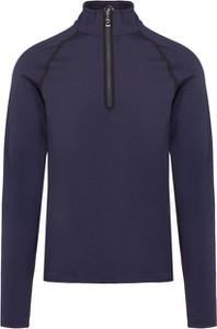 Granatowa bluza Bogner z dżerseju