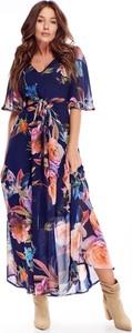 Sukienka N/A z krótkim rękawem z dekoltem w kształcie litery v