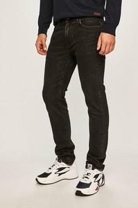 Czarne jeansy Levis z bawełny