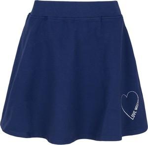 Spódnica Love Moschino z dresówki mini