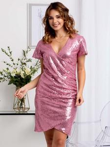 Sukienka Grandio mini z tkaniny ołówkowa