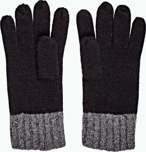 Czarne rękawiczki Gate