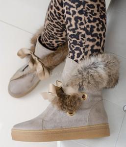 e0ac09ab6dbf śniegowce futro - stylowo i modnie z Allani
