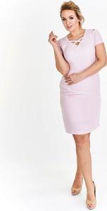 Sukienka Ptakmoda.com ołówkowa z tkaniny