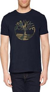 Czarny t-shirt timberland