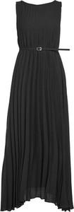 Czarna sukienka Kaos maxi