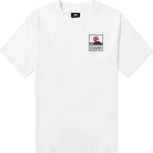 T-shirt Edwin z okrągłym dekoltem z krótkim rękawem z bawełny