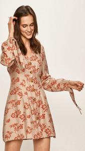 Sukienka Glamorous mini z długim rękawem