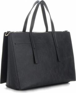 Granatowa torebka VITTORIA GOTTI duża w stylu glamour