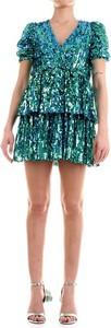 Niebieska sukienka ANIYE BY mini