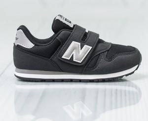 d6f889d3f Granatowe buty sportowe dziecięce New Balance na rzepy