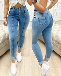 Jeansy Kendallme z jeansu w stylu casual