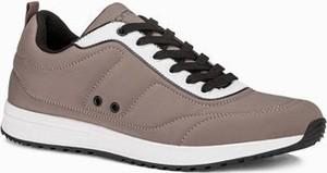 Ombre Buty męskie sneakersy T360 - beżowe