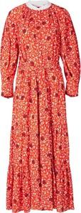 Sukienka Chloe z długim rękawem maxi