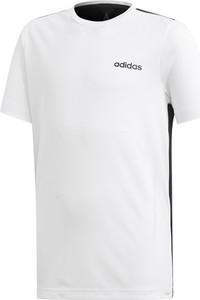 Koszulka dziecięca Adidas z krótkim rękawem z tkaniny