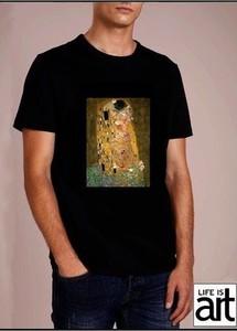 T-shirt Life Is Art z krótkim rękawem w młodzieżowym stylu