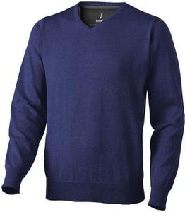 Granatowy sweter Upominkarnia z bawełny w stylu casual