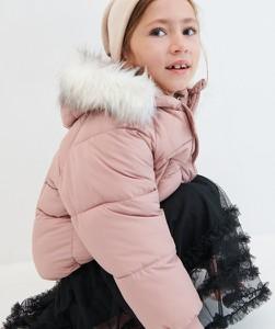 Różowa kurtka dziecięca Reserved