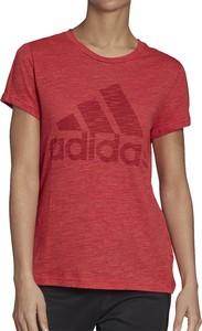 Bluzka Adidas z krótkim rękawem w sportowym stylu