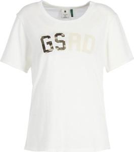 T-shirt G-Star Raw z okrągłym dekoltem z krótkim rękawem w stylu casual