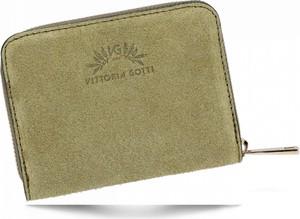 Zielony portfel VITTORIA GOTTI
