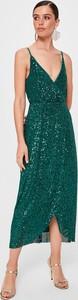 Sukienka Trendyol na ramiączkach kopertowa