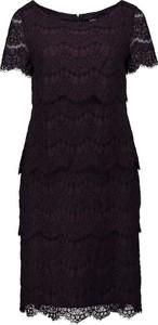 Sukienka Vera Mont z bawełny z krótkim rękawem