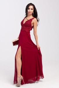Sukienka Butik Ecru na ramiączkach z dekoltem w kształcie litery v