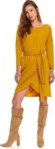 Sukienka Top Secret mini z okrągłym dekoltem