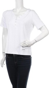 Bluzka Guess w stylu casual z okrągłym dekoltem