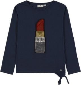Bluzka dziecięca Tom Tailor dla dziewczynek z bawełny