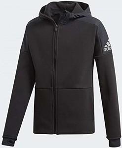 Brązowa kurtka dziecięca Adidas