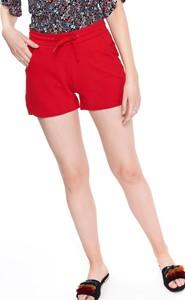 Czerwone szorty Drywash w stylu casual