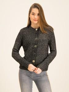 Czarny sweter Patrizia Pepe w stylu casual