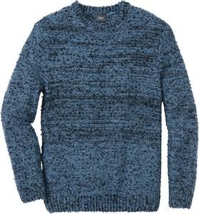 Niebieski sweter bonprix bpc bonprix collection w stylu casual
