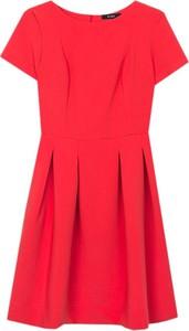 Sukienka ECHO z krótkim rękawem