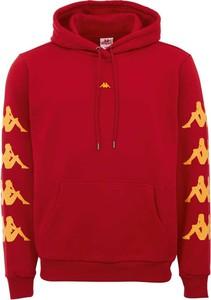 Czerwona bluza Kappa z bawełny