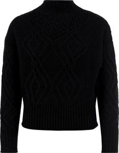Czarny sweter Guess z wełny w stylu casual