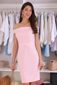 Różowa sukienka IVET