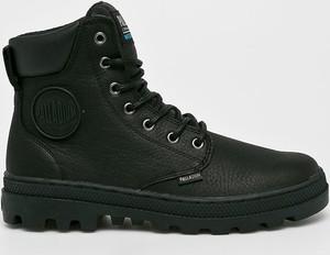 Czarne buty zimowe Palladium