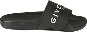 Czarne buty letnie męskie Givenchy