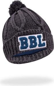 Brązowa czapka YoClub