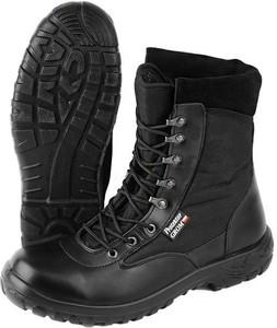 Czarne buty trekkingowe Protektor z tkaniny