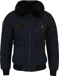 Czarna kurtka Aeronautica Militare