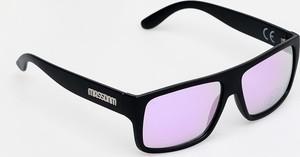 Mass Denim Okulary przeciwsłoneczne MassDnm Icon (matte black/purple)