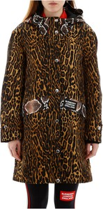 Brązowa kurtka Burberry w stylu casual