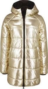 Złota kurtka Liu-Jo długa