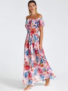 Sukienka Guess z tkaniny w stylu casual