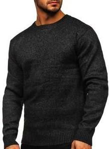 Czarny sweter Denley z wełny