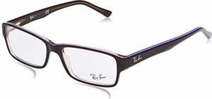 amazon.de Ray-Ban męskie oprawki do okularów 0RX5169, brązowe (Trasp Brown On Top Violet), 54